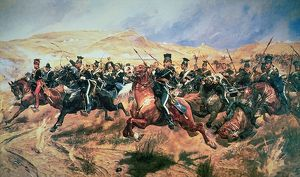 charge of the light brigade balaclava 25 october in 1854