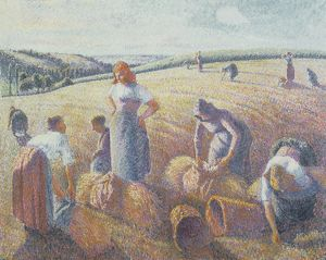 The Gleaners, 1889 (oil on canvas)