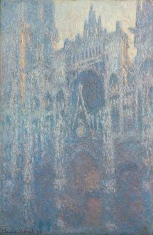 The Portal of Rouen Cathedral in Morning Light, 1894 (oil on canvas)