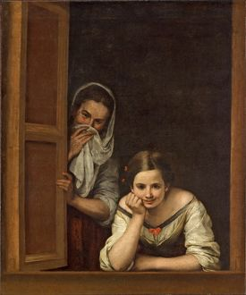women from galicia at the window c1655 1660